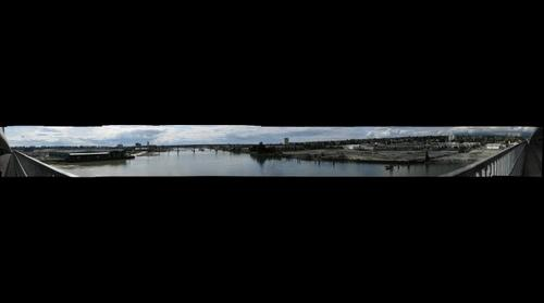 Canada Line Bridge Panorama