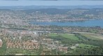 Zurich and the Lake of Zurich