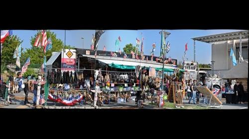 Truck dans un festival country