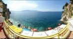 Off the balcony at Hotel Liro - Vlore, Albania