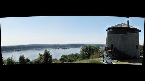 Tour Martello No. 1, Plaines d'Abraham, Québec, Canada