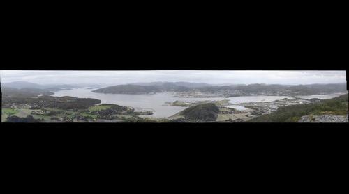 Namsos, utsikt fra Spillumsaksla