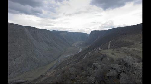 Pass Katu-Yaryk, Altai, Russia