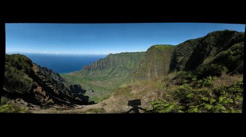 Kalalau Valley on a Super Clear Day