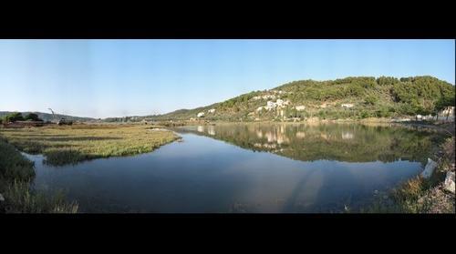 Lake below the Punta Skiathos 4 Sept 2009