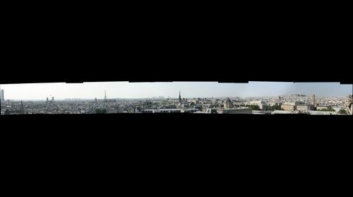 Paris Skyline from Norte Dame
