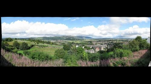 View to the East from Stirling Castle