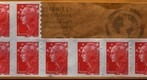Stamps - Macro panorama