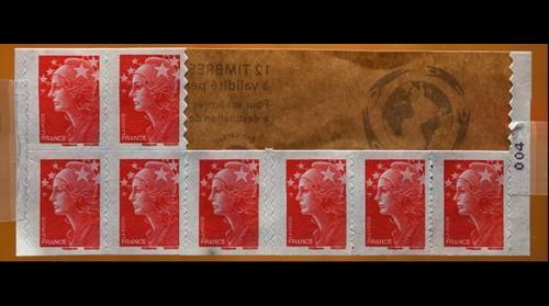 Stamps - Macro panorama
