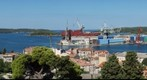 360 View from the castle across Pula 