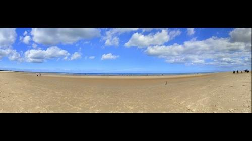 Beach in Norfolk [Holkham]