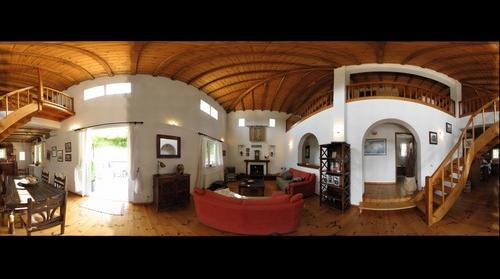 Internal View of Villa Psappha