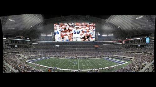 Cowboys Stadium first NFL game