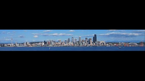 Seattle via Hamilton Viewpoint Park