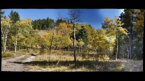 Colorado Mountain Scenery in the Fall