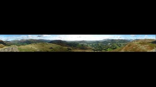View Across Great Langdale