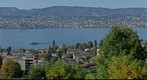 View over the Lake of Zurich from Ksnacht/Erlenbach