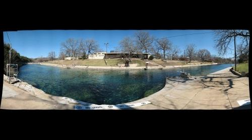 Barton Springs in Austin Texas