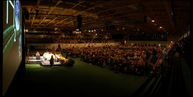 GigaPan of the Nobel Conference