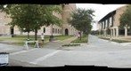 Fernanda in Front of the Barbara and David Gibbs Recreation and Wellness Center - 72dpi - a 360-Degree Panorama
