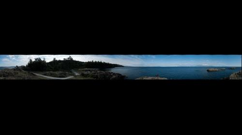 360 degree panorama of Neck Point Park in Nanaimo BC