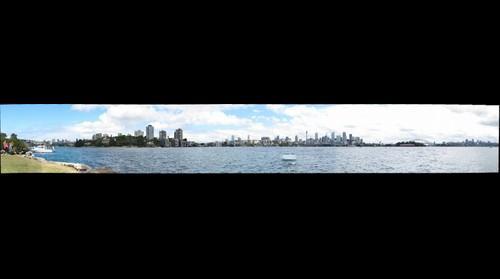 Sydney from Clark Island