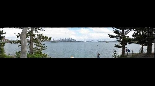 Sydney from Shark Island
