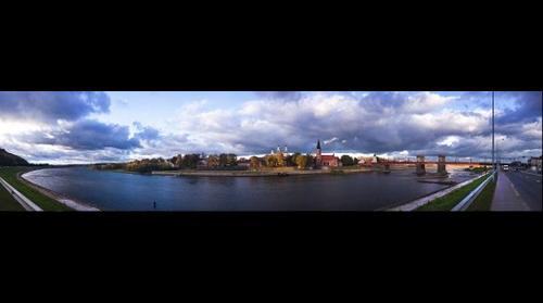 Sky over Kaunas