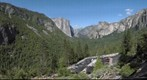 Tunnel View of Yosemite Valley along Highway 41