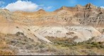 Dillon Pass - Badlands National Park, Interior, South Dakota (186-Degree View)