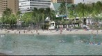 Hawaii -&gt; Oahu -&gt; Honolulu -&gt; Waikiki Beach (view from the pier)