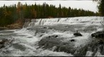 Dawson Falls panorama prior to freeze-up