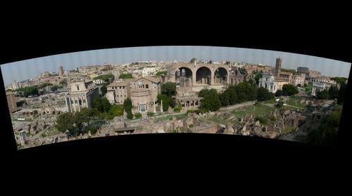The Roman Forum , Rome, Italy