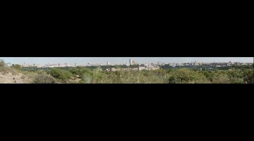 Madrid visto desde la Casa de Campo