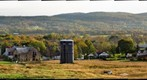 Farm in the Fall, New York State - High Resolution