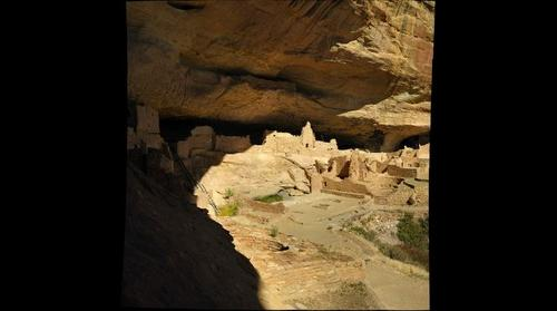 Long House at Mesa Verde National Park USA