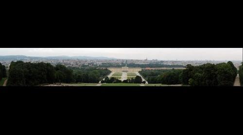 Schloss Sch�unn (seen from the Orangerie)