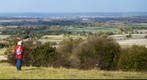 Vale of Aylesbury from Coombe Hill, UK