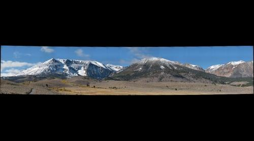Eastern Sierra After a Light Snow