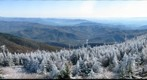 View of the Black Mountains from the summit of Mt. Mitchell, NC