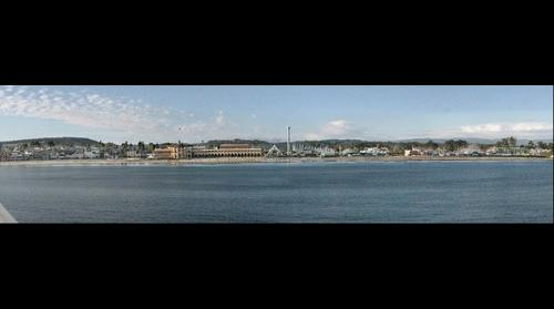 California -> Santa Cruz -> Santa Cruz Beach Boardwalk (view from the pier)