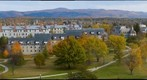 View from above Middlebury College, Vermont