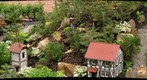 Model train layout at Phipps Conservatory