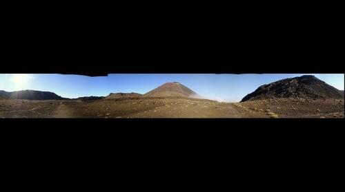 Tongariro South Crater