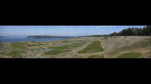 Chambers Bay Golf Course alternate view
