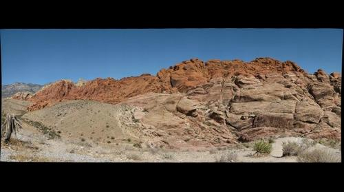 Red Rock Canyon Nevada - find the climbers
