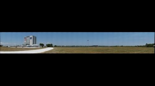 Launch viewing area at Kennedy Space Center