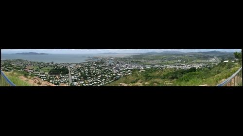 Townsville, Queensland, from southernmost lookout point on Castle Hill
