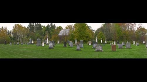 Orwell Corner Historic Village: Graveyard