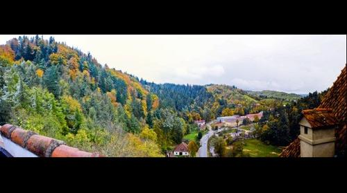Bran District scenery